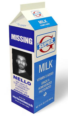 Missing Nello